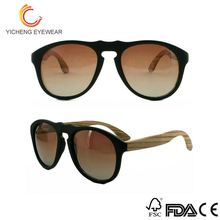 New product various sizes ladies eyewear bamboo sunglasses