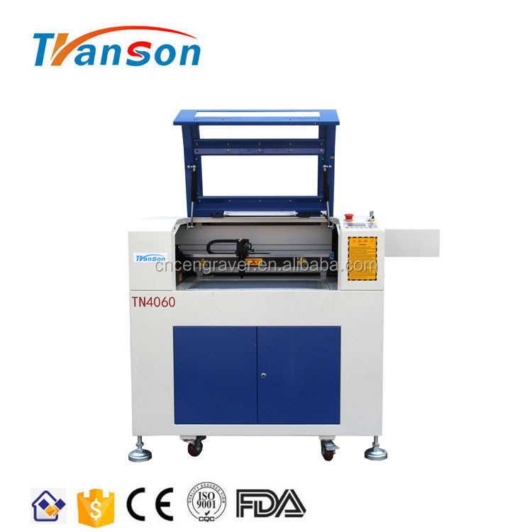 Double-color Sheets Acrylic Glass Fabric Laser Cutting Making Machine