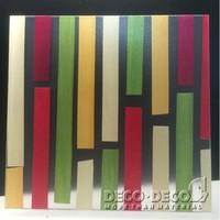 3 D form resin panel and unique design decorative panel