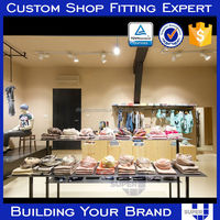 2016 Alibaba Manufacturer Store Fixture Supply Clothes Shop Furniture Garment Display