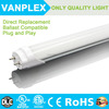 Plug&Play Compatible Electronic Ballast internal sex 8 led tube made in China 18w