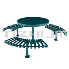 popular durable decorative outdoor round bench in park
