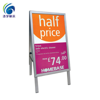 100% PURE NEW ARRIVAL 45mm Mitred Outdoor A1 Pavement Signs Sidewalk Poster board