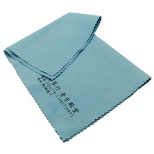 With private label silkscreen printed portable micro fiber camera cleaning cloth