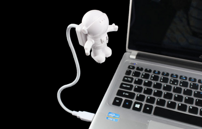 Wholesale Gift Items Spaceman Laptop Led USB Light