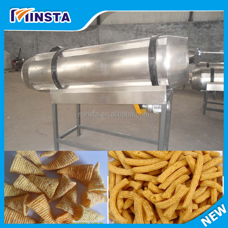 Hot Selling High Efficiency Chicken Meat Potato Chips Flavoring Machine|Peanut Broad Bean Seasoning