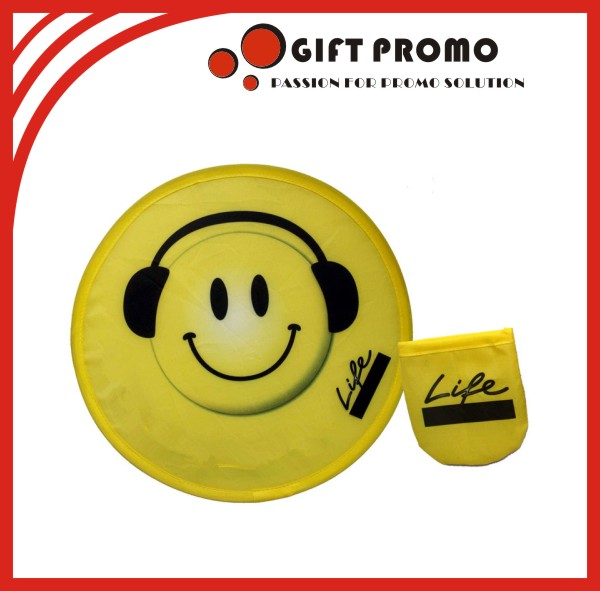 2015 Promotional Fabric Foldable Frisbee