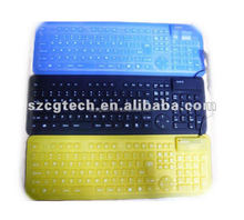 different types of keyboards/ thin flexiblae silicone keyboard/portable computer keyboard