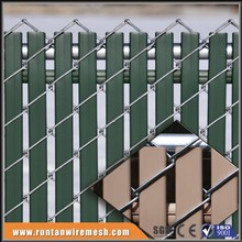 hot sale metal chain link fence slats lowes