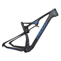 29er full suspension mountain bike 29er carbon MTB bike thru axle full carbon MTB frame T800 new design 2017