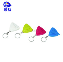 CE Keychain Keyring Tool Popular Mini Measuring Tape Portable Keychain