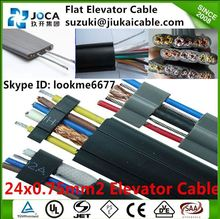 Flat Flexible Cable China Manufacturer Wholeslae Elevator Travel Cable car lift cable