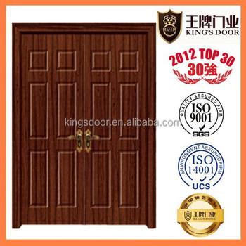 best quality wooden double main door designs and toilet door with stop  sc 1 st  Zhejiang Kings Door Industry Co. Ltd. - Alibaba & best quality wooden double main door designs and toilet door with ...