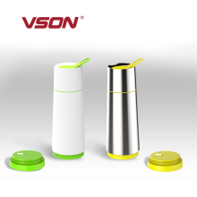VSON hot sale large drinking cups stainless travel mug cup custom mug for girl friend