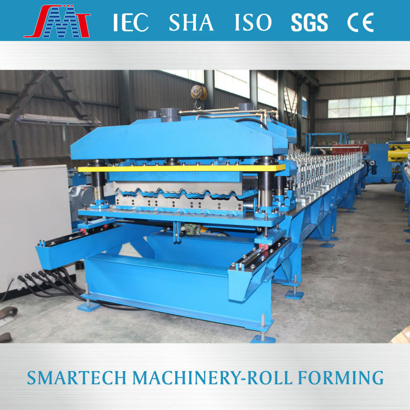 YLA198 Building Material Machinery glazed tile roll forming machine