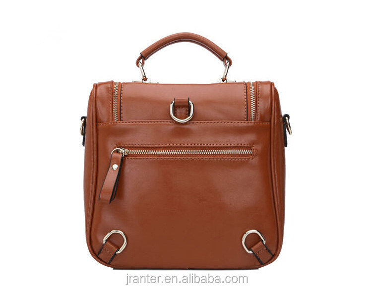 Fashion Trend Genuine Leather Backpack/Handbag/Shoulder bag,backpack women