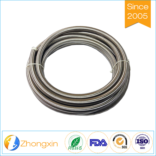 insulation High pressure resistance sae 100 r14 stainless steel ptfe hose for steam