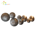 Antique rounds theme metal abstract wall art sculpture