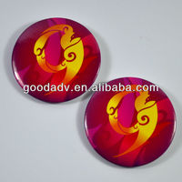 OEM Factory promotion gifts plastic bedge/ custom round badge