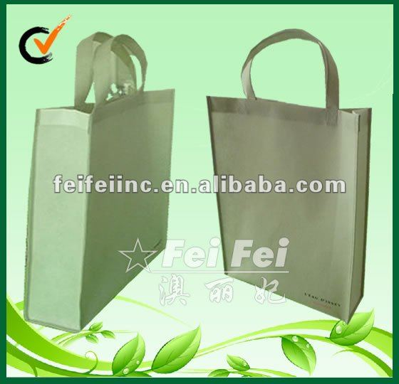 Eco friendly pp non woven fabric shopping tote recycle bag