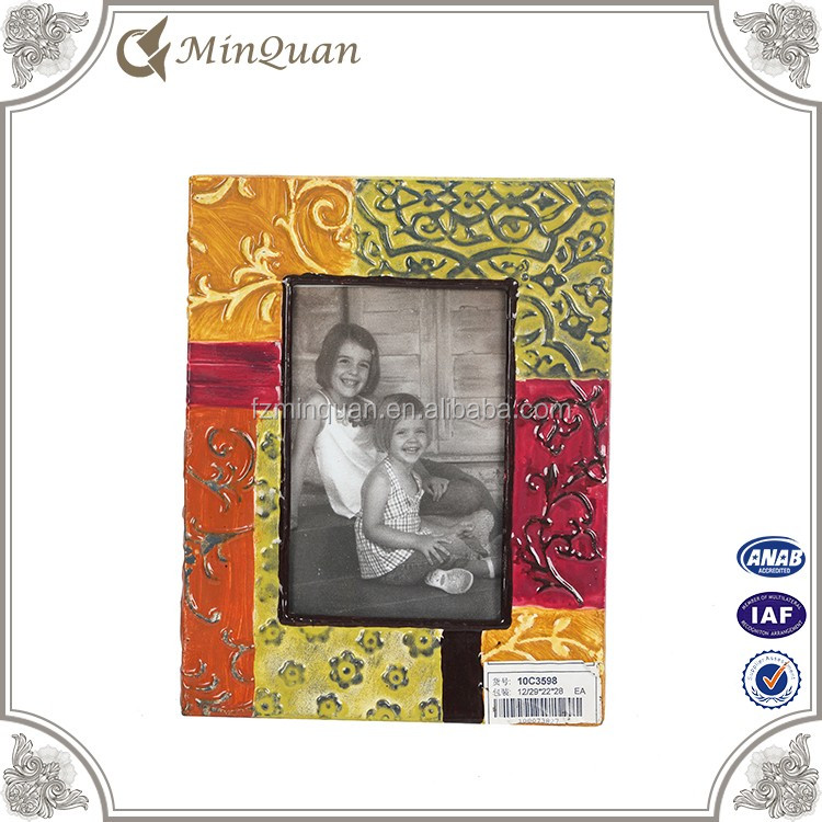 colorful design metal unfinished picture frame moulding
