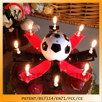2015 New Arrival Germany Football Fans Birthday Musical Kerzen