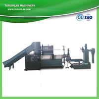 PP PE waste plastic film recycling line/granulating machine/pelletiing line/pelletizer