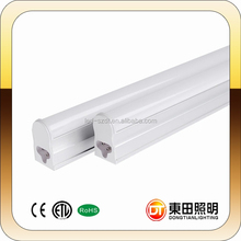 China factory supply 2ft smd 2835 led t5, build in driver t5 light tube, high quality led tube t5