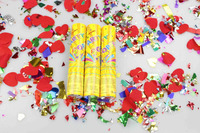 fuxing brand 50cm colorful confetti popper compressed air confetti party popper