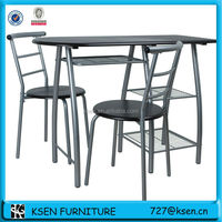 OUTDOOR CAFE TABLE CHAIRS SET (1TABLE+2CHAIRS) KC-7540H