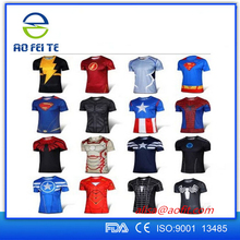 China Manufacturer Custom T Shirt, Digital T-Shirt Printing 3D Sublimation T Shirt