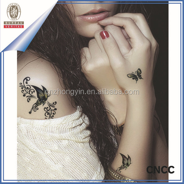 2015 hot-sale Top Fashion Cool Body Temporary Tattoo Sticker