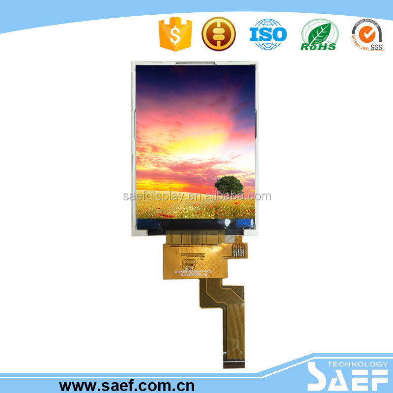 IPS 2.4 inch tft lcd display 240x320 QVGA industrial supplier lcd panel