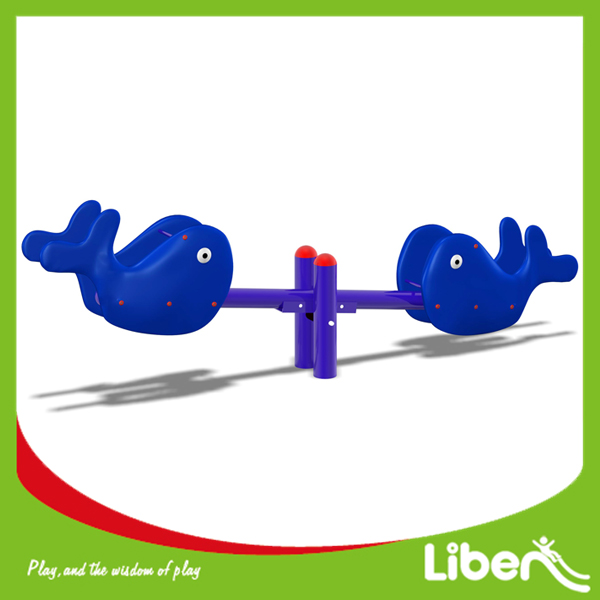 Attractive Kids Plastic Outdoor Seesaw for Sale