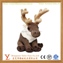 2014 christmas toy stuffed reindeer animal plush toy moose