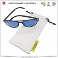 cheap wholesale white microfiber glasses cloth pouch