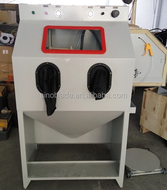 Cleaning Workpiece Surface Automatic Sandblasting Equipment