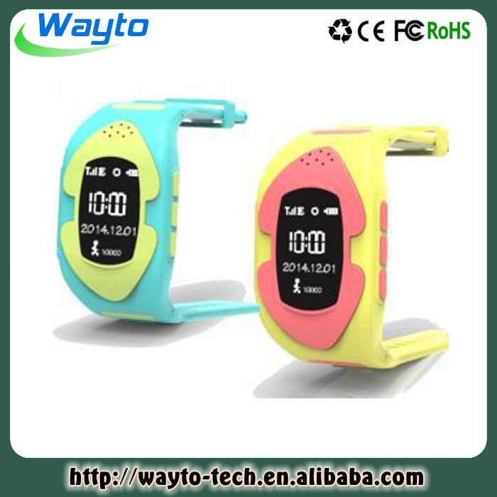 Hand Watch Mobile Phone Sos Function Kids Smart Watch With Gps Tracker