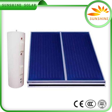 Color Steel Elegant Appearance Solar Energy 300 Liter Flat Plate Solar Water Heater