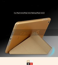 2015 new arrival leather 7'' inch tablet pc cover case for hp