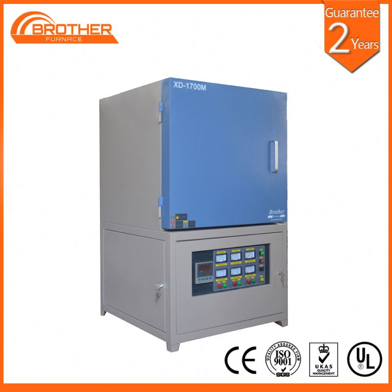 Scientific supply High temperature metal melting kiln for testing