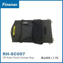 New foldable solar charger bag solar power pack for outdoor adventures