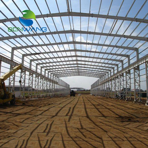 Fabrication design steel structure frame building prefabricated warehouse building