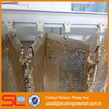 Beautiful metallic fabric cloth, metal fabrication drapery, metal mesh curtain