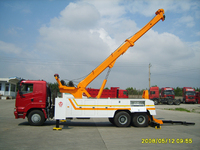 Hot Sale Wrecker towing truck Tow Rotator Wrecker With Truck Crane