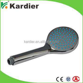 Finely processed large shower heads