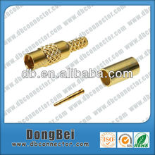 mmcx female auto connector RF coaxial adapter crimp connector