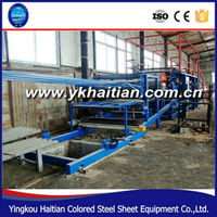 EPS Color steel Sandwich Roof Panel Machine