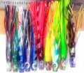 Free samples soft fishing lure octopus resin head fishing baits