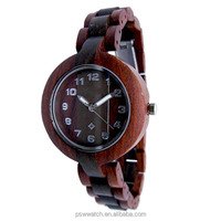 2016 new design eco-friendly wooden watch for women